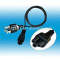 Ul estándar IEC 13 a UL 3 pin cables de alimentación plug