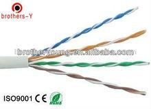 utp cat 5e lan cable 4 p 24awg high speed transfer