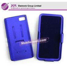 mobile phone Holster combo case for Blackberry Z10