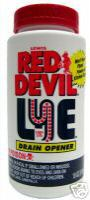 Red Devil Lye Sodium Hydroxide Soap Bio Diesel Biodiesel