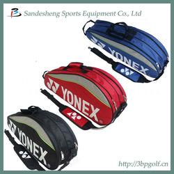 Custom made badminton racket bag for four pieces