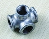 natural gas pipeline fitting DIN standard iron fitting side outlet tees equal 90