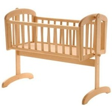 Solid wood Baby Cot