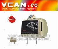 MPEG-5 Format 9'' Headrest DVD+GAME+FM+IR+SD+USB+DIVX
