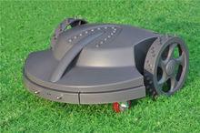 auto lawn mower, lead-acid battery, 2 pcs cutting blades garden machine