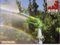 Rain-gun Sprinkler Of Large Coverage