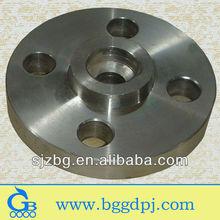BG alloy steel high pressure jis 5k rf slip on flange