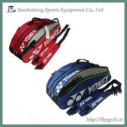 2013 badminton racket bag for six pieces