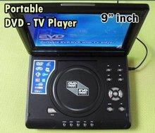 "Portable TV DVD CD Player 9"" Screen Game USB TF Antenna"