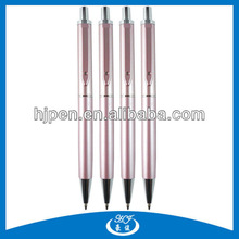 Promotional New Design Clip With Crystal Metal Ballpen