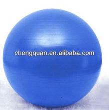 Gogo 55cm yoga, balance ball/fitness. ballon de stabilité, bleu