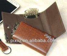 Wholesales genuine leather key holder wallet