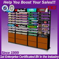 Antique acrylic retail store cigarette display cabinet (DG-H381)