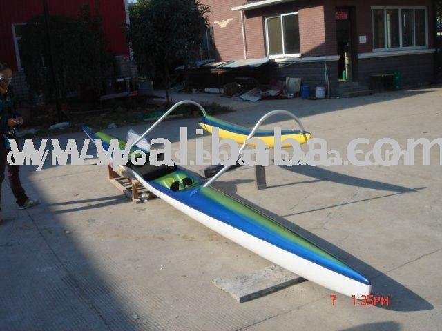 Outrigger canoe (Carbon fiber& Kevlar)