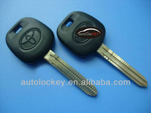 Auto car key for Toyota transponder key with 4D67 chip