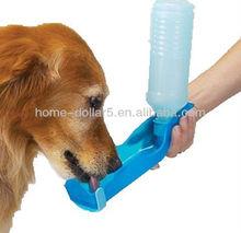 Potable Pet Dog Cat Water Feeding Drink Bottle Travel Bowl