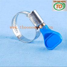 german type clamp with plastic screw