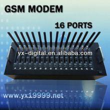 16 port gsm sms modem wavecom module tc35 gsm modem