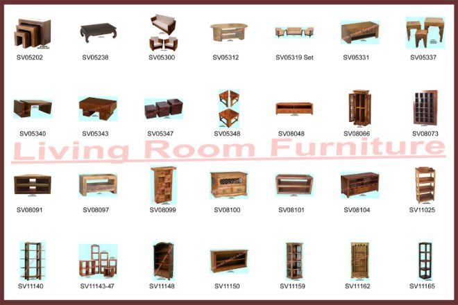 Names Living Room Pieces
