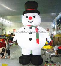 Wholesale Christmas Decorations Inflatable Snowman Model