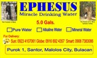 Ephesus miracle drinkin water