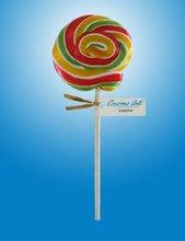 rainbow round lollipop