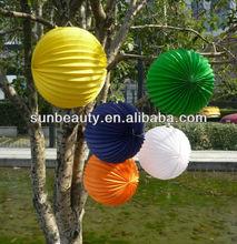 popular orange paper lantern