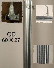 Metal Profiles Galvanized CD,CW,UD,UW