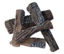 De cerámica de registro de gas chimenea