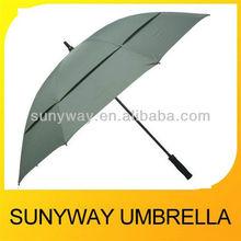 Double Fabric Stick Golf Umbrella Resist Wind Umbrella