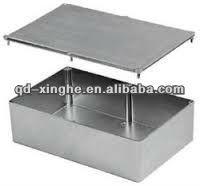 aluminum case box casting/aluminum die cast junction box/aluminum die cast transmission case