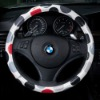 Black Dot Steering Wheel Cover made by Korea's RunwayCar (It's time to dress car up)