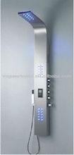 Steel Stainless Shower Massage Panel Radio S9406
