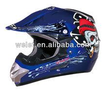 CROSS HELMET WLT-125 blue bike helmets