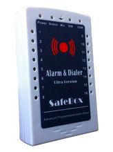 Lower cast S160 SafeBox GSM Wire/Wireless Alarm System,gsm wireless home burglar security alarm system,16 Wireless Zones