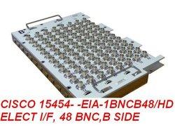 CISCO 15454- -EIA- 1BNCB48/ HD ELECT I/F, 48 BNC,B SIDE