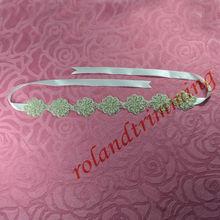 2013 new wholesale ladies rhinestone fashion fancy waist belt RAY26-7pc