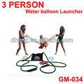 verão quente vendendo 3 pessoas balão de água lançador estilingue 300 quintal lançador com 300 pcs balão