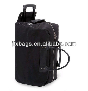 2013 Wholesale manufacturer canvas Trolley travel bag made in China