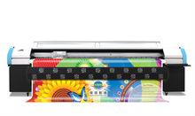 Large format printing machine UD-3276Q,Phaeton Q series solvent printer with 6pcs SEIKO 510/50pl head (using solvent ink)
