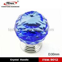 morden crystal handle kitchen furniture knobs