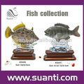 peces tropicales polyresin escultura