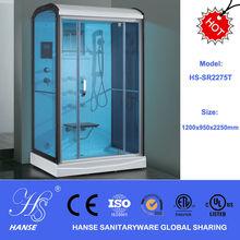 HS-SR2275T Steam shower/acrylic massage steam shower room/ sitting steam shower room