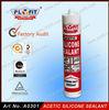 Acetic silicone sealant spray