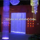 150W Colorful led waterfall light/ Plastic Optical fiber