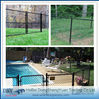 Best price brown vinyl coated chain link fence (Direct factory from China)