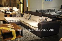 Sala de estar mobiliário l forma sofá antigo sala de estar sofá