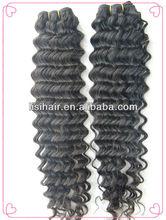 Hot! High Quality 20 Inch Filipino Virgin Deep Wave Hair Weaving