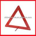 Segurança triângulo refletor de advertência/vermelha triângulo de sinalização rodoviária
