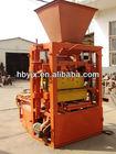 Hot selling manual block and brick making machines QTJ4-30B (Hongbaoyuan Brand)